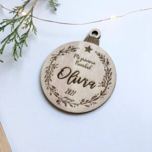 bola de navidad personalizada
