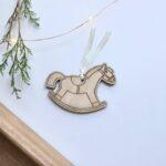 decoracion navideña madera