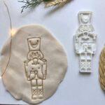 navidad,cascanueces, cookie cutter, molde plastilina