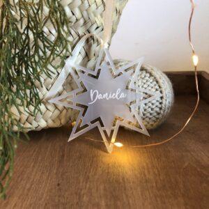 estrella arbol navidad decoracion
